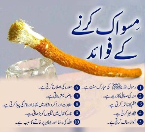Benefits of Miswak in Urdu