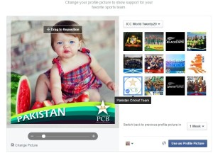 Facebook Show Your Game Face - ICC World T20 2016
