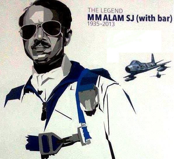 Legend MM Alam on his 3rd Death Anniversary