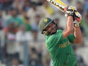 Captain of Pakistan Cricket team Shahid Afridi
