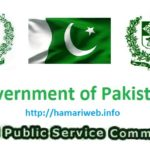 FPSC Jobs 2017 Latest Federal Public Service Commission 10/2017