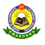 BISE Mardan Board 9th & 10th Class Result 2016