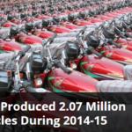 Pakistan Produced 2.07 Million Motorcycles