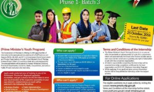 Prime Minister Youth Training Internship 2016-2017