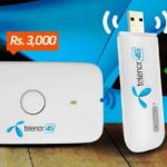 Telenor 180 GBs Data Limit Launches 4G Wingle and  Mobile WiFi Device