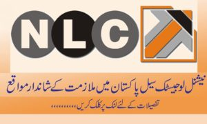 NLC Jobs 2016 National Logistics Cell Rawalpindi Tracking Project