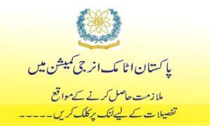 Pakistan Atomic Energy Commission Technicians Jobs