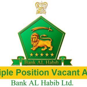 Bank Al Habib Limited Jobs Apply Online
