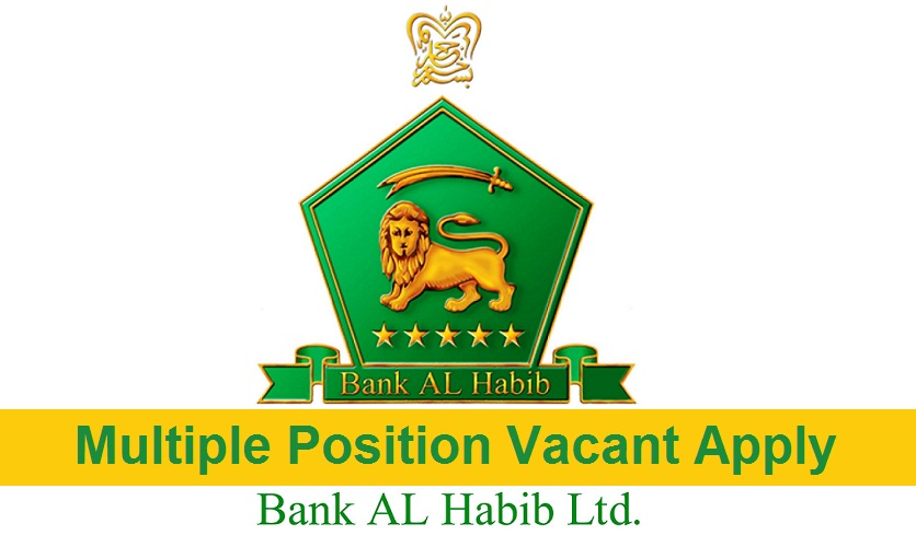 Bank Al Habib Limited Jobs Apply Online