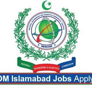Careerjobs1737 Jobs in NESCOM Islamabad Apply Online