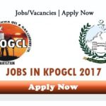 KPOGCL Jobs 2017 – 2018 Latest Khyber Pakhtunkhwa Oil and Gas Company Limited Apply Online
