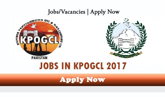 KPOGCL Jobs 2017 Latest Khyber Pakhtunkhwa Oil and Gas Company Limited Apply Online