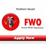 FWO Jobs 2017 Vacancies for Engineering Finance in Frontier Works Organization Pak Army Apply Online