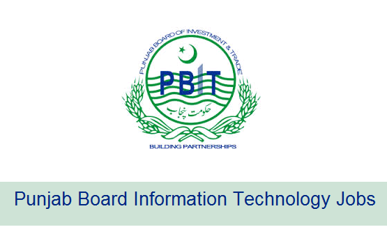 pbit jobs 2017 punjab board information technology po box