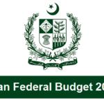 Pakistan Federal Budget 2017-18 updates