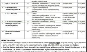 Ministry of Petroleum and Natural Resources Pakistan Jobs 2017 Latest