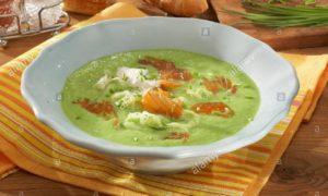 Delicious Pea Soup with Salmon Recipe