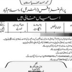 PMO Jobs 2017 Latest Prime Minister Office Pakistan Employment