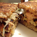 Tempeh Butter Cheese Sandwich healthy and Delicious Recipe