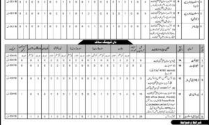 Federal Government Educational Institutions Directorate Jobs 2017