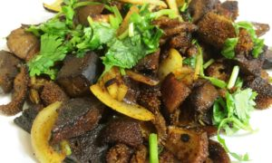 Mutton Liver with Onion A Delicious Recipe
