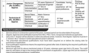 Engineering and DAE PO Box 2399 Islamabad Jobs 2017
