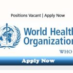 WHO Pakistan Jobs 2017 World Health Organization as UCPOs