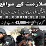 Sindh Police Special Security Unit Jobs 2017 Latest 1280 Posts