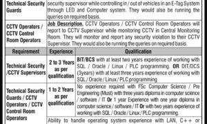 DHA Islamabad-Rawalpindi Technical and other Jobs