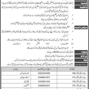 Join Janbaz Force in Pakistan Army 10 Core Jobs
