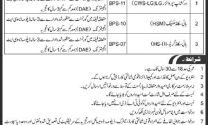 PO Box 914 GPO Rawalpindi Jobs for DAE, Technical/Mechanical Staff Pak Army Jobs 2017