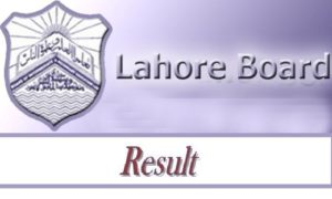 BISE Lahore Board Part 1 (11th Class) Result 2018