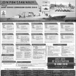 Join Pak Navy Latest through Short Service Commission Course SSCC 2018-B Apply Online