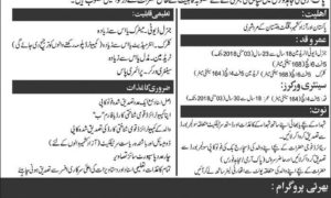 Pak Army Mujahid Force Jobs 2017 Latest as Sipahi