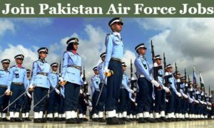 Join PAF as Permanent Commission Officer Latest in Pakistan Air Force