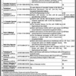 Federal Govt Organization Jobs Latest PO Box No 377