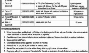 Atomic Energy Jobs Latest PO Box No 1611 for Technicians & Others