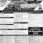 Join Pakistan Navy as PN Cadet for Permanent Commission in term 2019-A (1500+vacancies) Apply Online