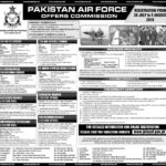 Join PAF Permanent Commission and Short Service Commission Officers