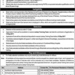 Join Pakistan Army Jobs As Commission Office  in In Janbaz Force No 31 Corps
