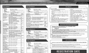 Join Pakistan Navy in Short Service Commission in different Branches