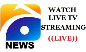 Geo TV Live Streaming, GEO News