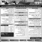 Join Pakistan Navy as Steward Female Jobs