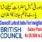 Job Opportunities in British Council For Invigilators Latest opening in Multiple Cities